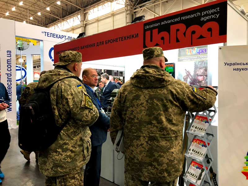 "UA.RPA participated in 16th international specialized exhibition ""Arms And Security - 2019"" (2)"