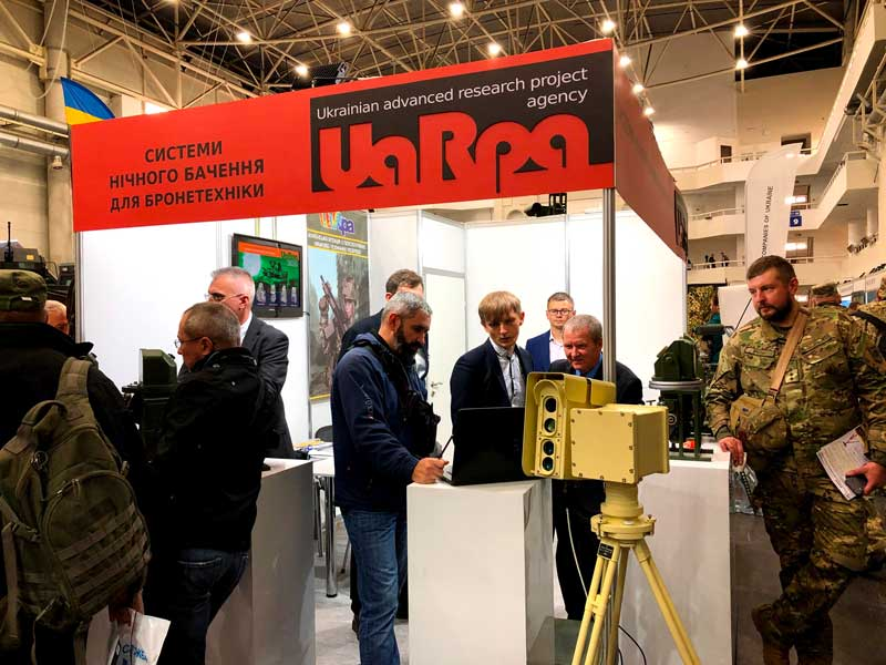 "UA.RPA participated in 16th international specialized exhibition ""Arms And Security - 2019"" (3)"