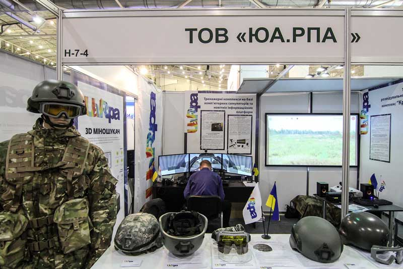 UA.RPA took part in XII International Exhibition «ARMS AND SECURITY – 2015» (5)