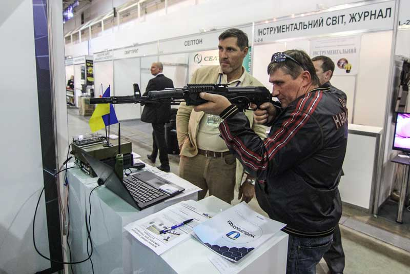 UA.RPA took part in XII International Exhibition «ARMS AND SECURITY – 2015» (6)