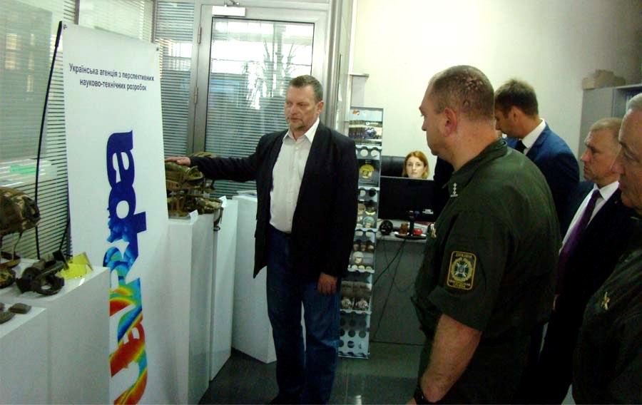 "UA.RPA presented its production at the exhibition-presentation from the members of the ""League of Defense Companies of Ukraine"" (3)"
