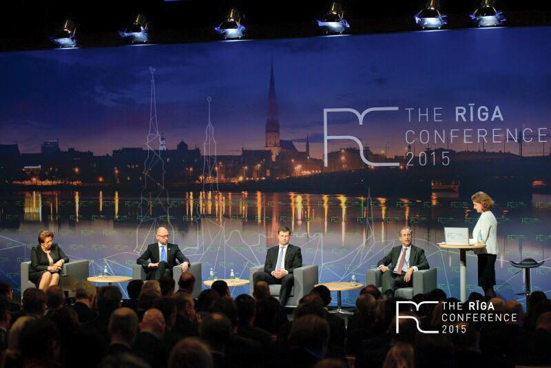 President of UA.RPA took part in The Riga Conference 2015