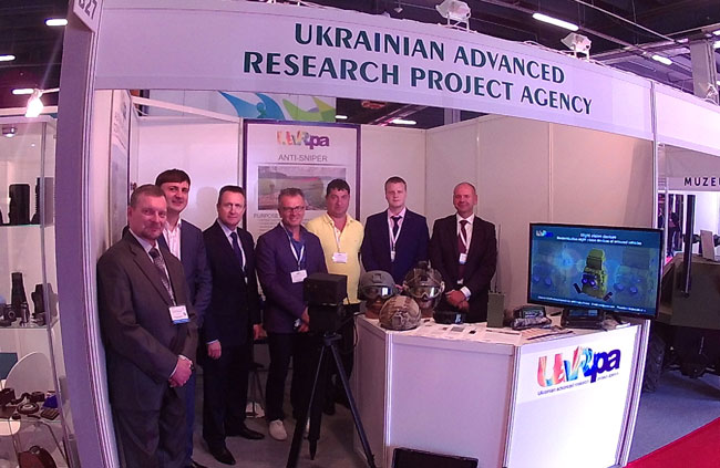 The team of UA.RPA participated in the 24th International Defence Industry Exhibition MSPO